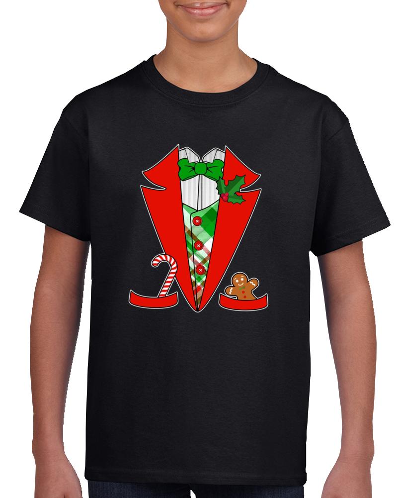 Em4shirts Christmas Tuxedo Costume Funny T Shirt