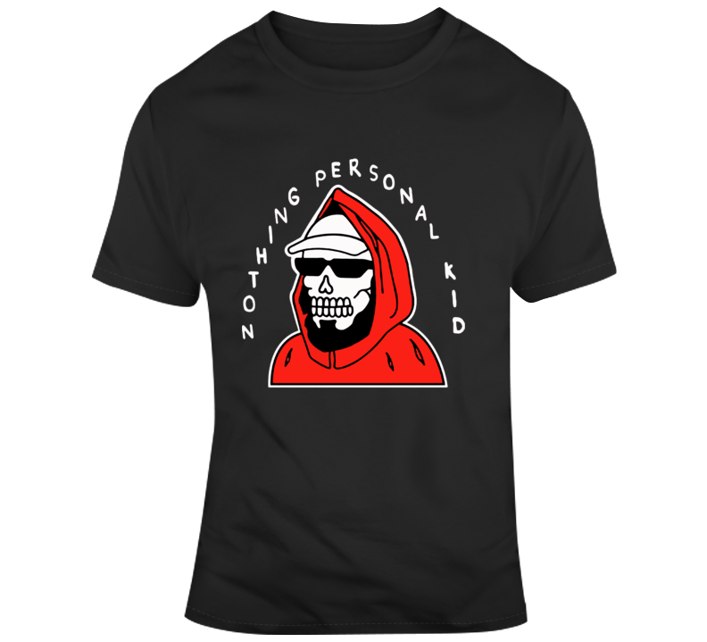 Pewdiepie Nothing Personal Kid Skeleton Skull T Shirt