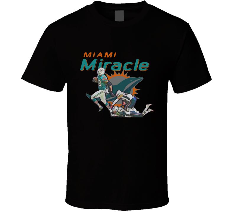 Miami Miracle Kenyan Drake Game Winning Touchdown Against T Shirt