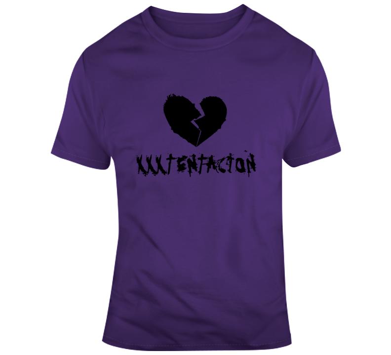 Detroital Xxxtentacion Broken Sad Heart Top Cool Rap T Shirt