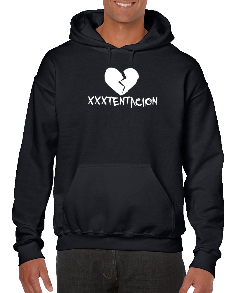 Em4shirts Detroital Xxxtentacion Broken Sad Heart Sweatshirt Pullover Hoodie