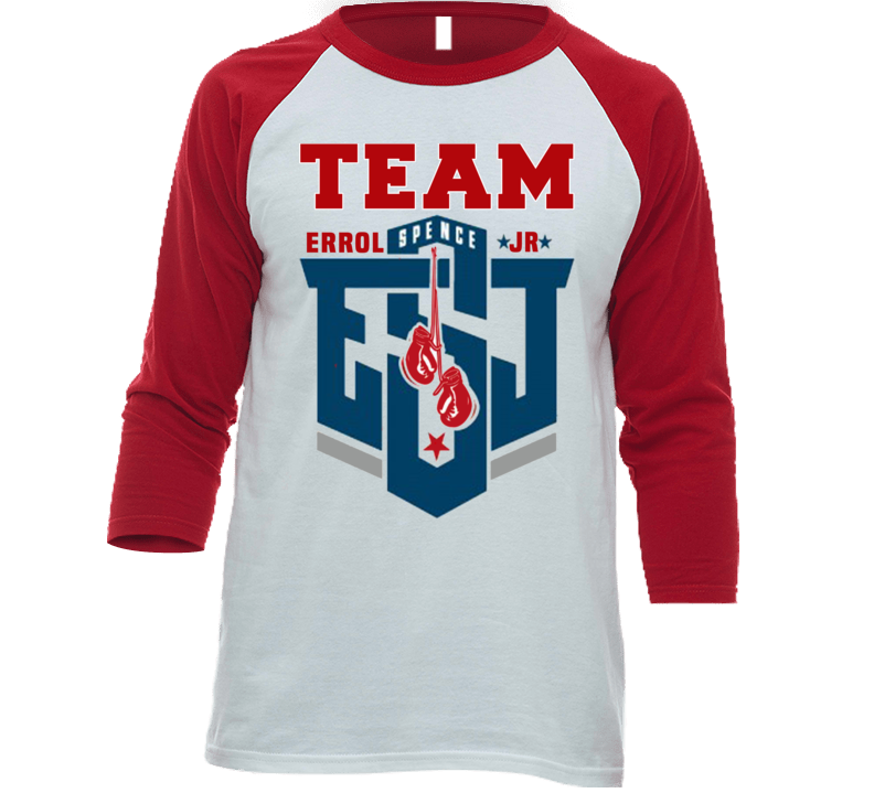 Em4shirts Team Errol Spence Jr Esj Graphic 3/4 Sleeve Raglan 2019 Boxing Shirt
