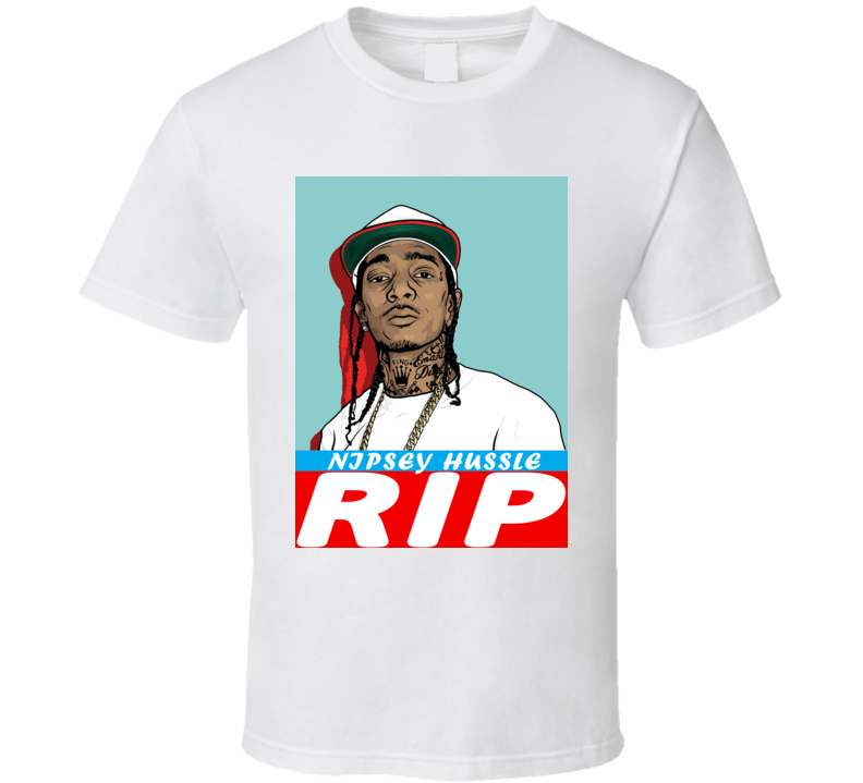 Ermias Asghedom Nipsey Hussle Rip Rest In Peace Charity T Shirt