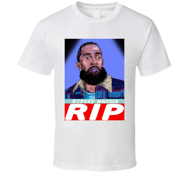 Nipsey Hussle Ermias Asghedom Rip Rest In Peace T Shirt