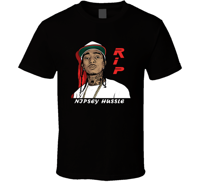 Em4shirts Ermias Asghedom Nipsey Hussle Rip Rest In Peace T Shirt