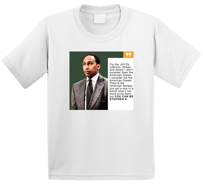 Em4shirts Stephen Anthony  Smith Inspired American Dream  Funny T Shirt