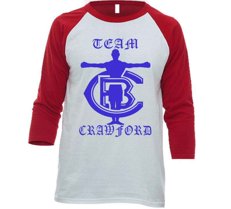 Em4shirts Team Terence Crawford Wbo Wba American Boxer Baseball Raglan T Shirt T Shirt
