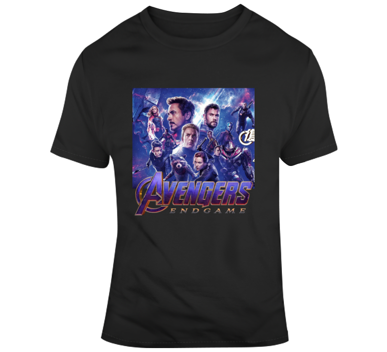 Avengers Endgame Character Collage Poster T Shirt