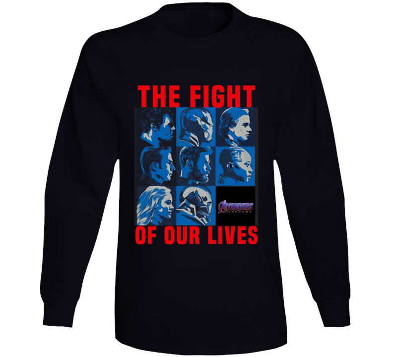 Avengers Endgame The Fight For Our Lives Charity Long Sleeve