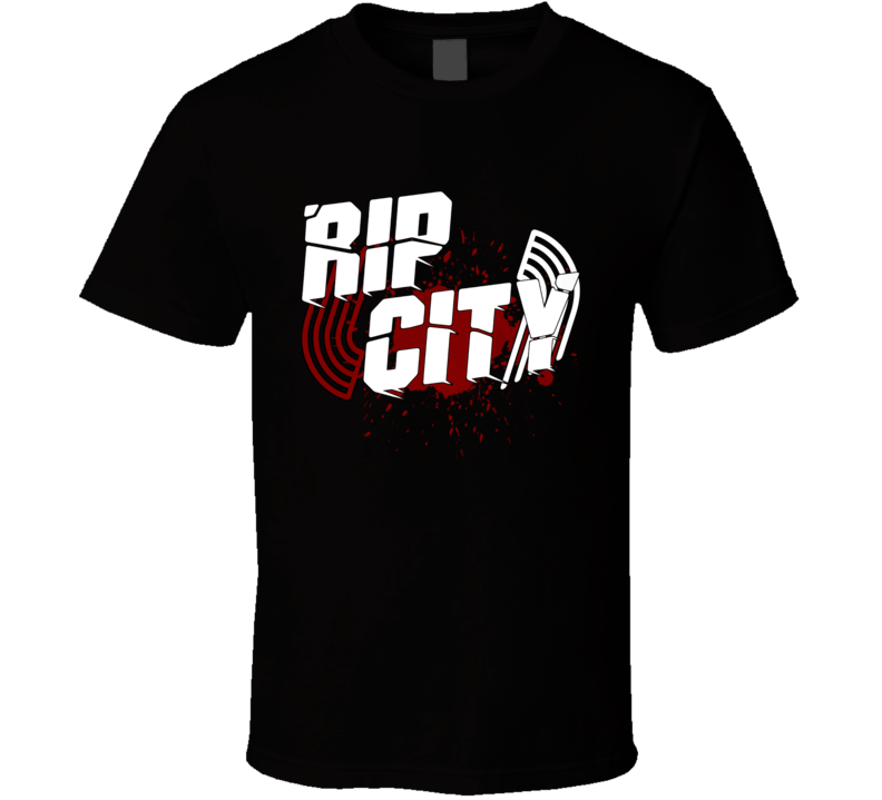 Rip City Portland Trail Classic Bound Tip Off Dunk Hot Blazer 2019 T Shirt