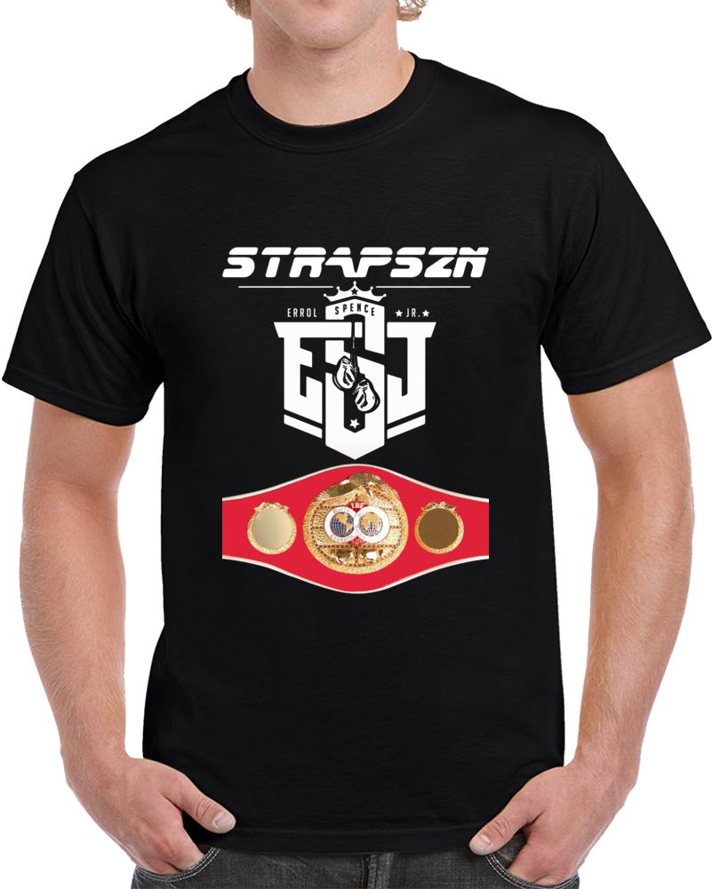 Errol Spence Jr Strapszn Esj Ibf World Welterweight Title Belt T Shirt
