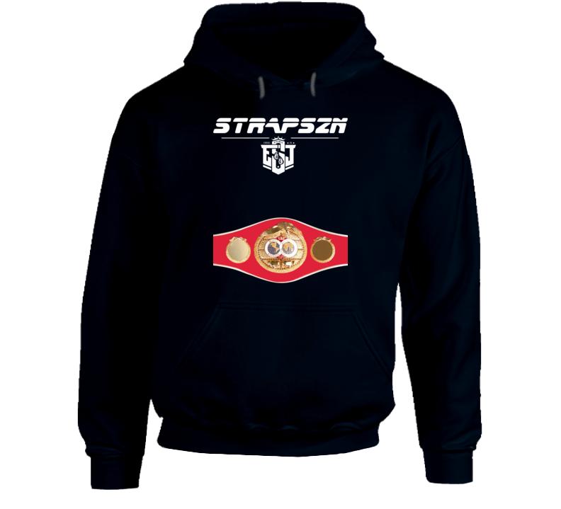 Errol Spence Jr Strapszn Esj Logo Ibf World Welterweight Title Belt Strap Season Hoodie