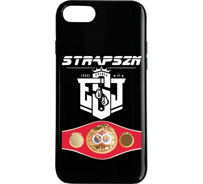 Errol Spence Jr Strapszn Esj Ibf World Welterweight Title Belt Phone Case