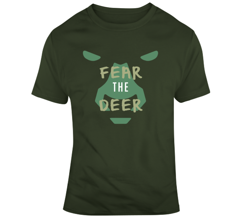 Milwaukee Classics Fear The Deer 2019 Finals Victory Winning Championship T Shirt
