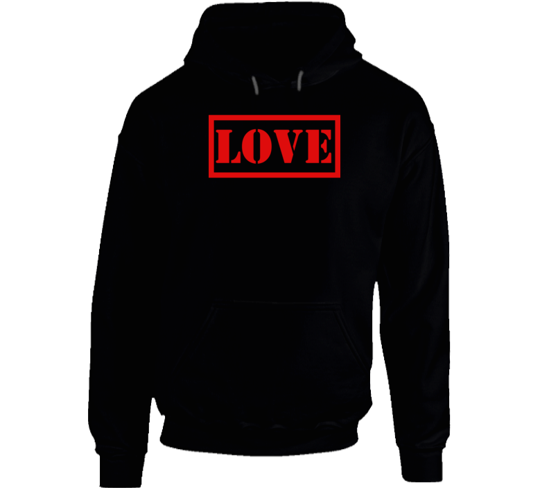 Love Stencil Box Logo Legend Hoodie