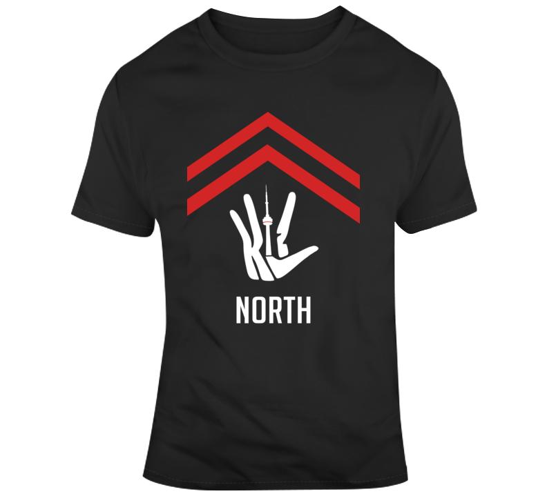 Toronto Hand Claw Kawhi Leonardo We The North Klaw T Shirt
