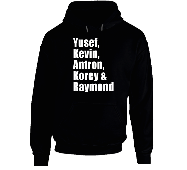Yusef Kevin Antron Korey And Raymond Santana Central Park Five Hoodie