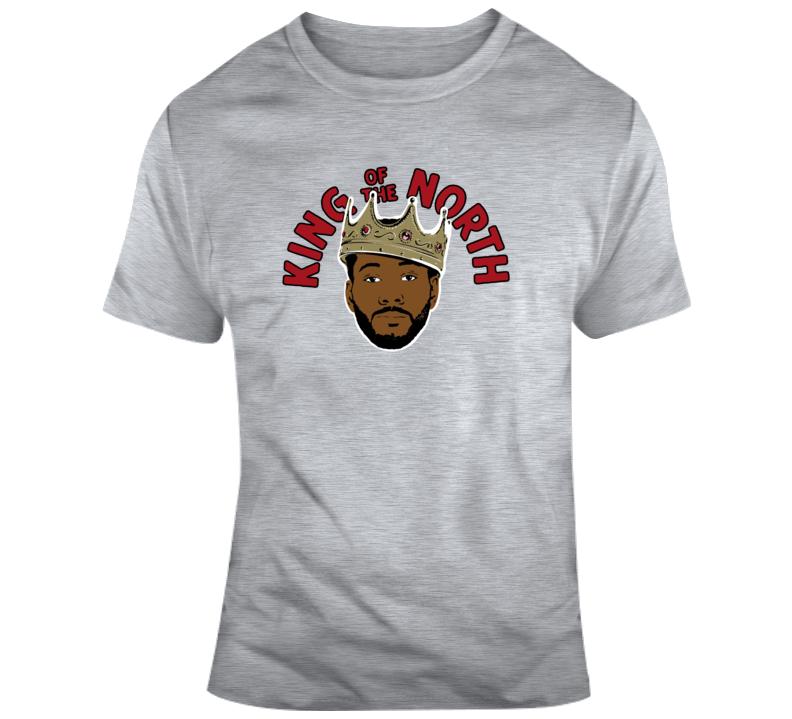 Kawhi Leonard Toronto Basketball King Of The North T Shirt