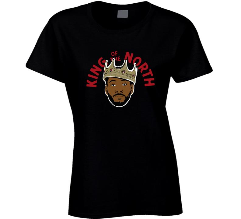 Kawhi Leonard Toronto King Of The North Classic T Shirt