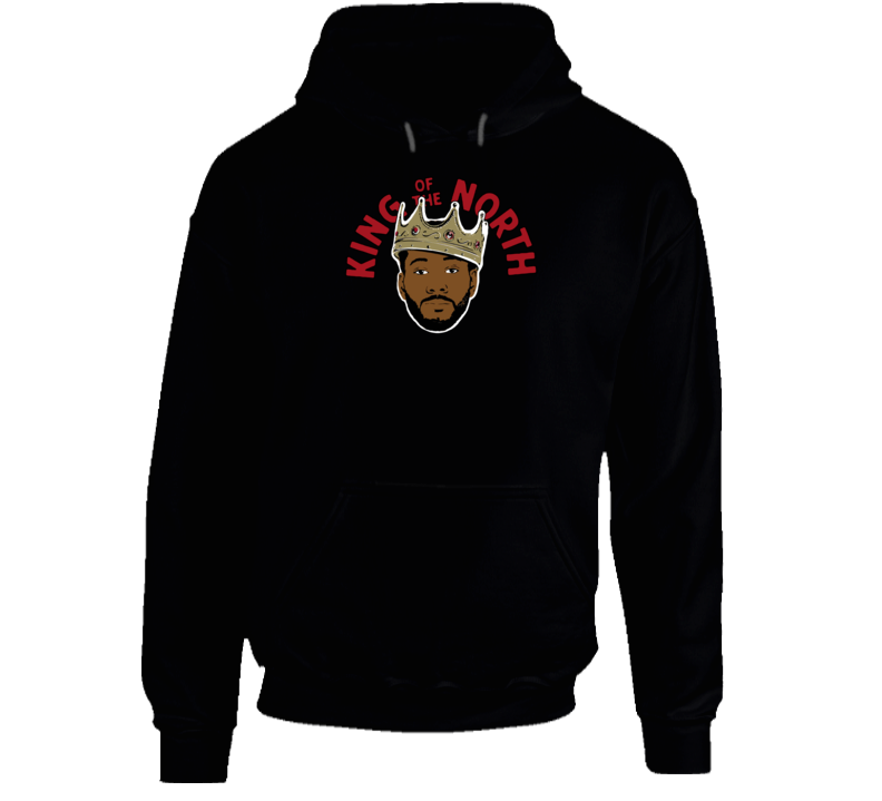 Kawhi Leonard Toronto King Of The North Classic Hoodie
