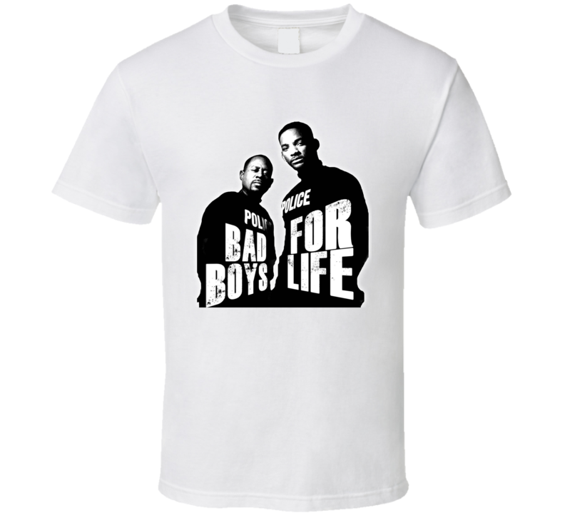 Bad Boys For Life 3 Will Smith Martin Lawrence Iii Cover Poster T Shirt