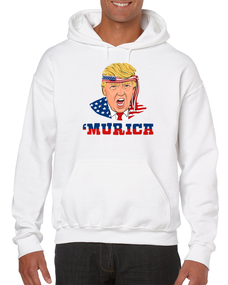 United States Of America Murica Usa Independence Day Merica Hoodie