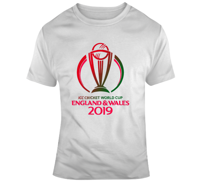 Icc Cricket World Cup 2019 England And Wales T Shirt