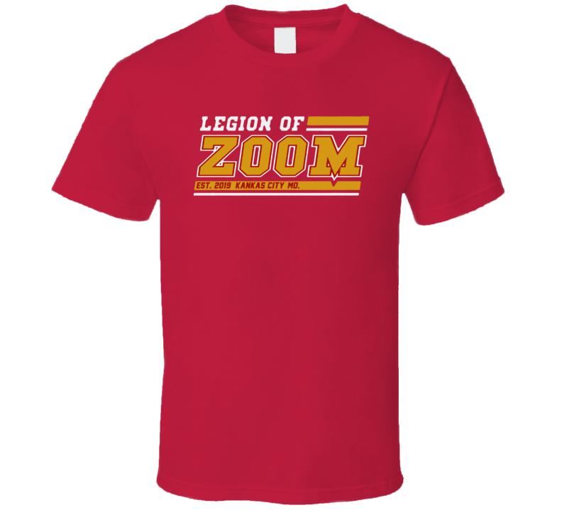Legion Of Zoom Kansas City Em4shirts Football T Shirt