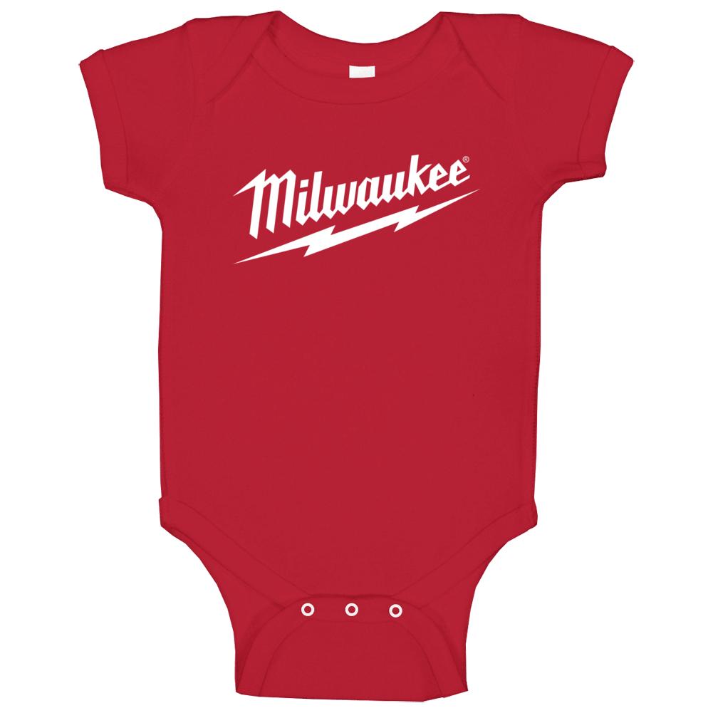Milwaukee Tool Brand Fan Baby One Piece