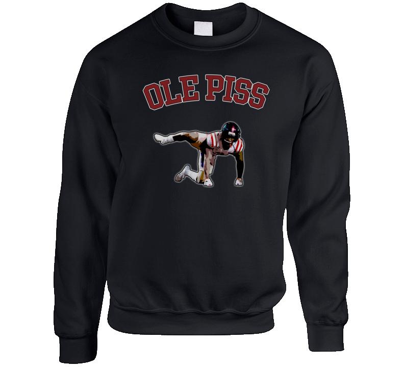 Em4shirts Ole Piss Elijah Moore  Pee Celebration Crewneck Sweatshirt