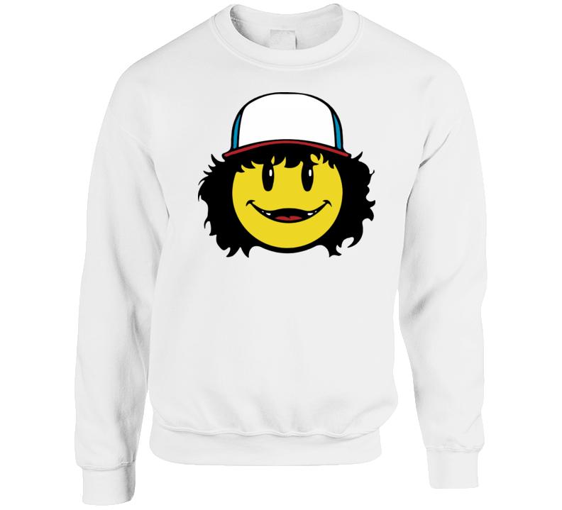 Gaten Matarazzo Emoji Crewneck Sweatshirt