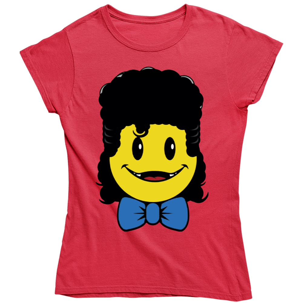 Gaten Matarazzo Hair Emoji Christmas Ladies T Shirt