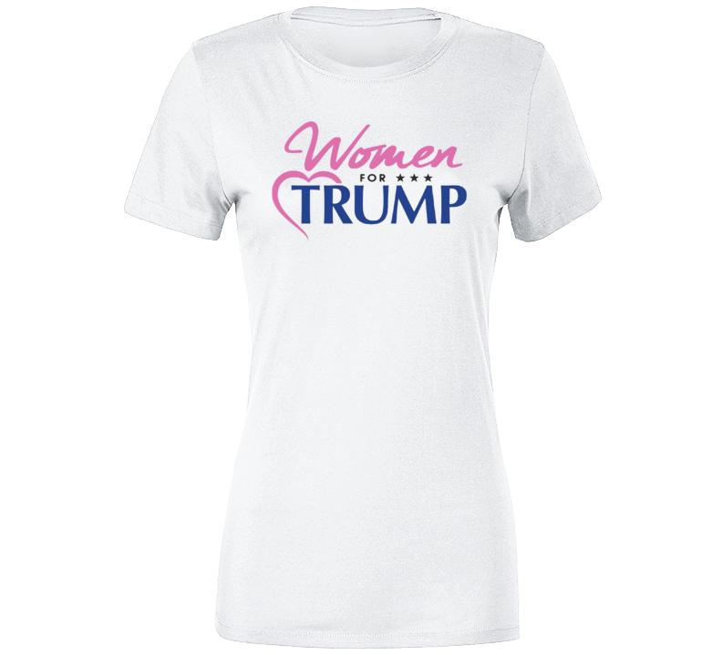 Em4shirts Women For Trump Ladies T Shirt