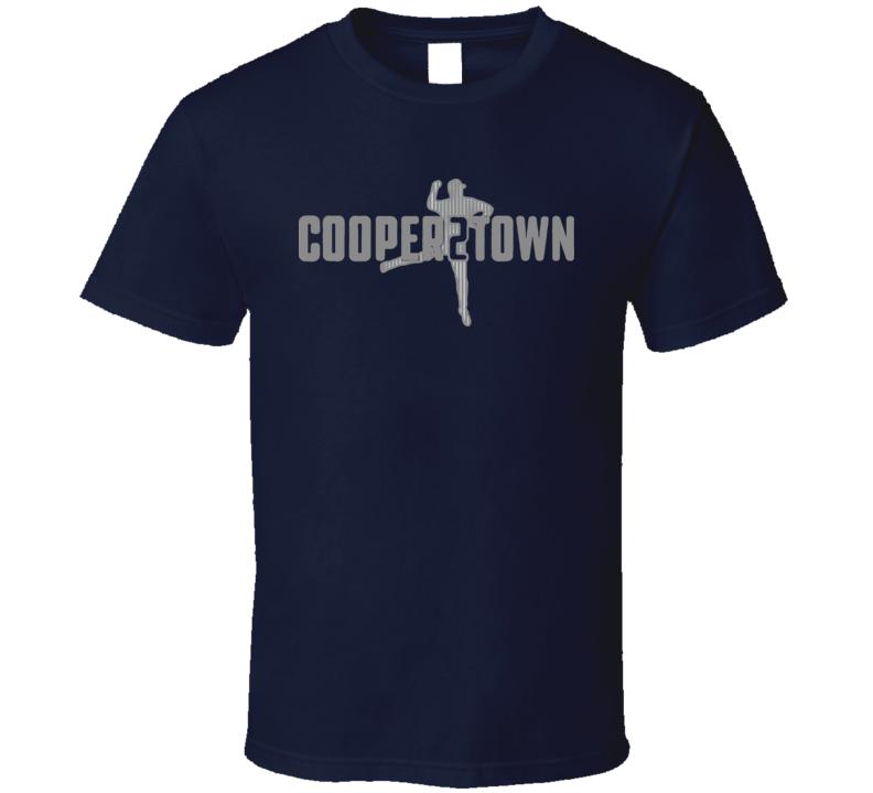 Derek Jeter Cooper2town Bronx To Cooperstown Bombers T Shirt