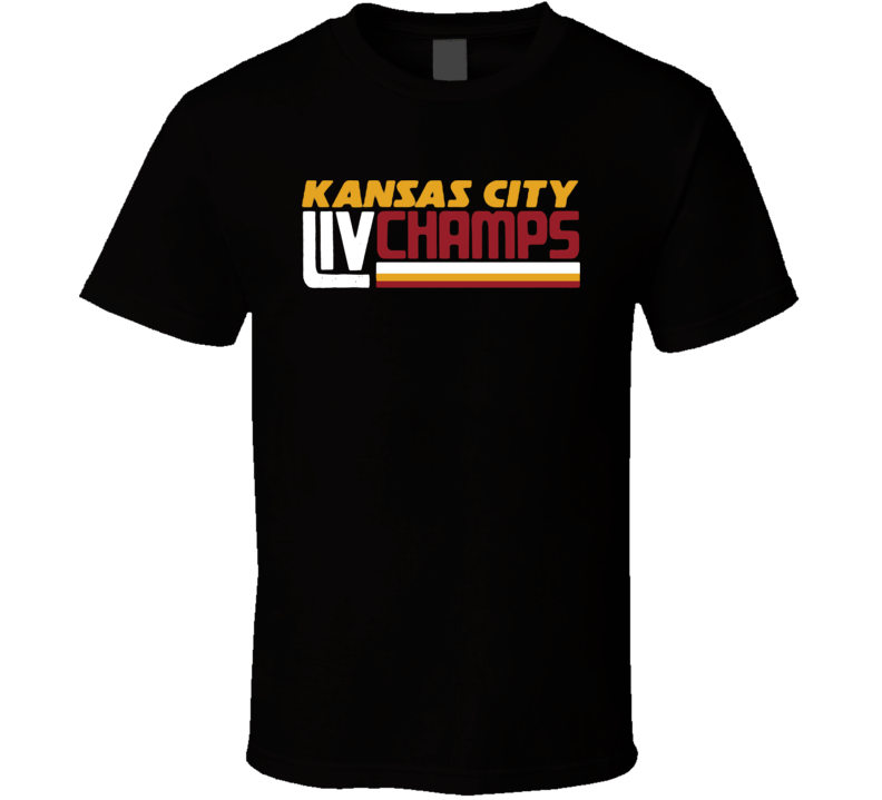 Kansas City Liv Champs T Shirt