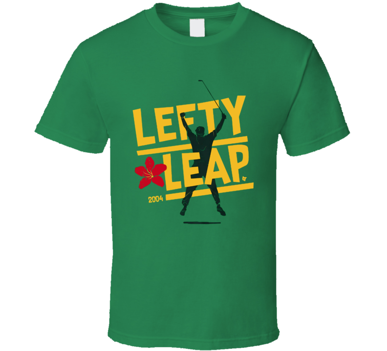 Phil Mickelson Lefty Leap Golf T Shirt