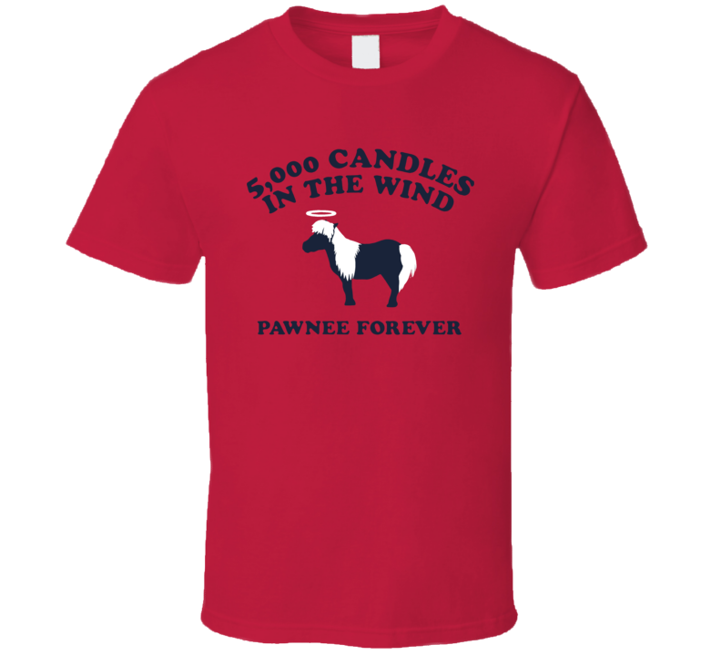 Pawnee Horse 5000 Candles In The Wind T Shirt