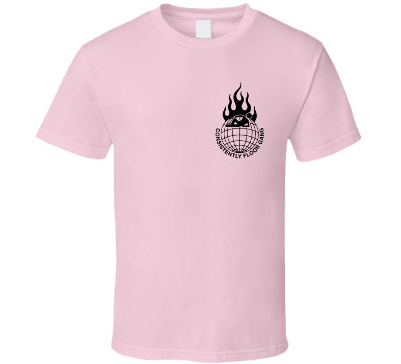 Pewdiepie Consistently Floor Gang T Shirt