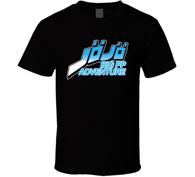 Jojo Big Pp Adventure Pewdiepie T Shirt