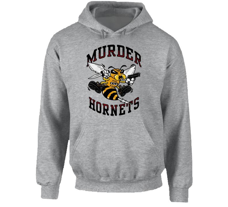 Murder Hornets Knife And Gun 2020 Hoodie