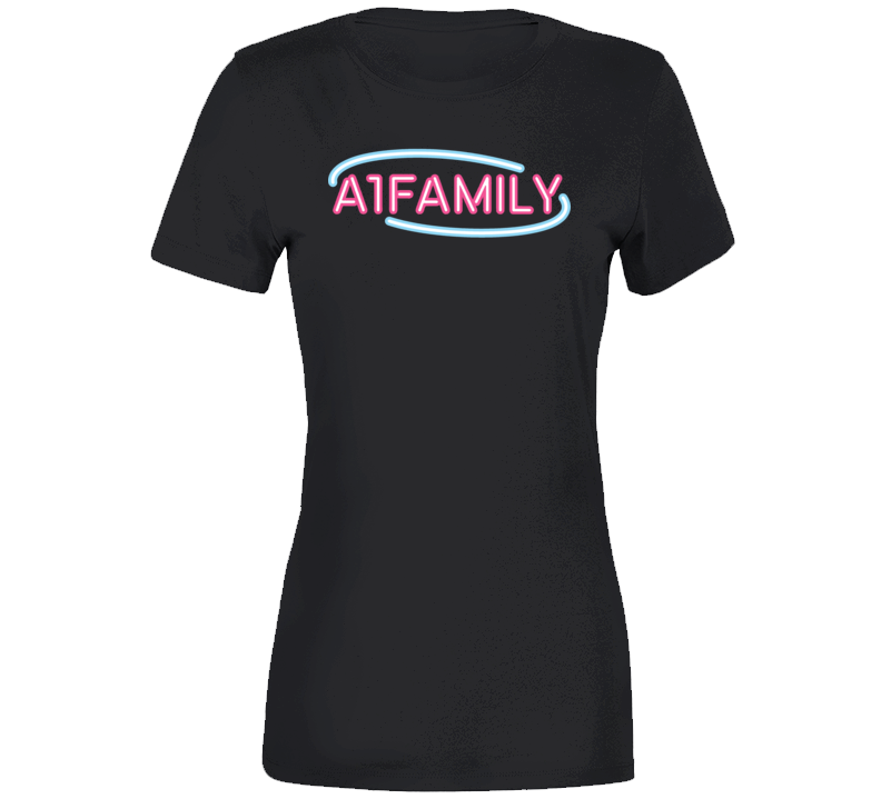 Jules And Saud Stay A1 Family Ladies Premium T Shirt
