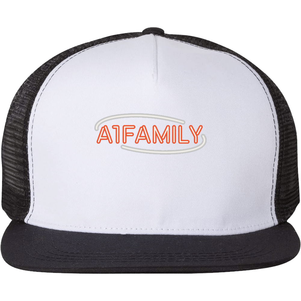 Jules And Saud Stay A1 Family Trucker Hat