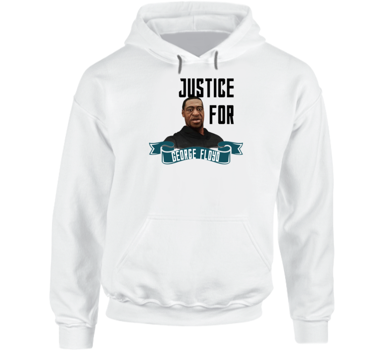 Justice For George Floyd Rip Em4shirts Protest Hoodie