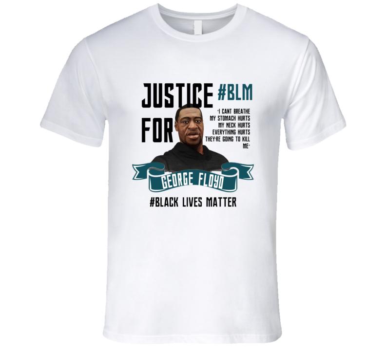 #BlackLivesMatter Justice For George Floyd Rip T Shirt