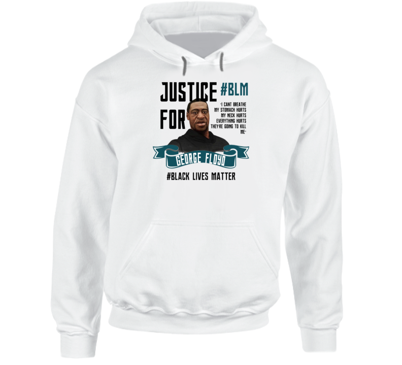 Black Lives Matter Justice For George Floyd Blm Rip Hoodie