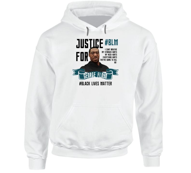 Black Lives Matter Justice For George Floyd Blm Rip Hoodie