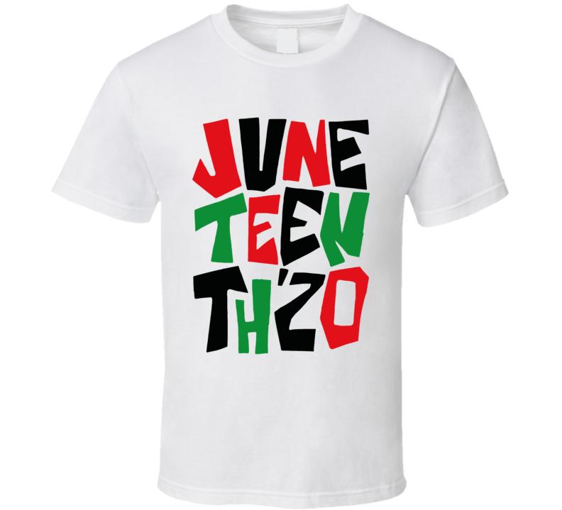 Ghetto Gastro Juneteenth Thzo T Shirt