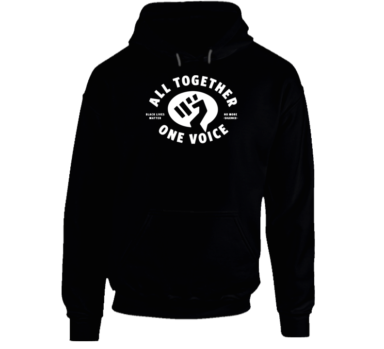 Benny Gold All Together One Voice Black Lives Matter Hoodie