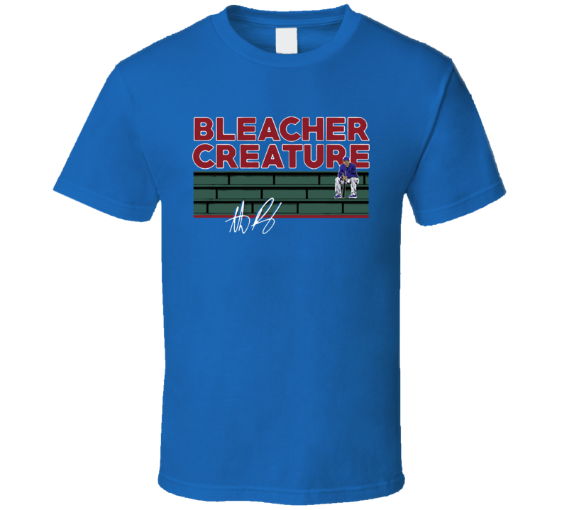 Anthony Rizzo Chicago Bleacher Creature T Shirt