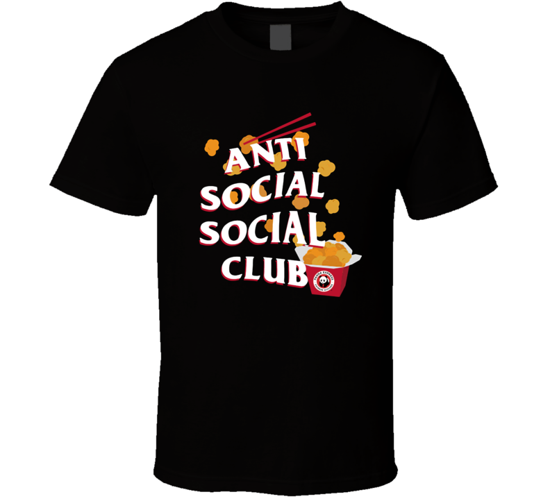 Panda Express Kitchen Anti Social Social Club T Shirt